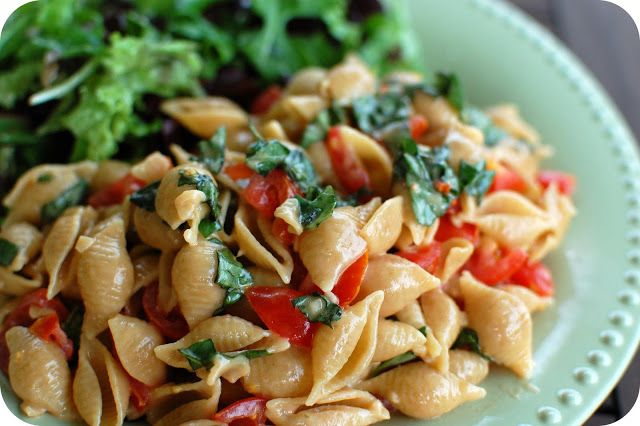 Tomato, Brie, and Basil Pasta | made with love | Pinterest