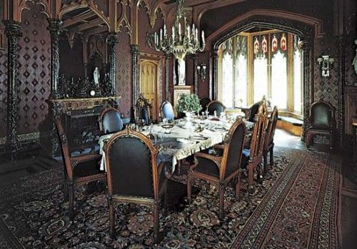 gothic dining room gothic homes pinterest