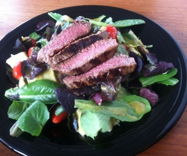 Steakhouse Salad with Horseradish Vinaigrette recreated from a ...