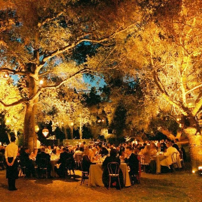 Golden glow fall wedding decor for Autumn wedding decoration