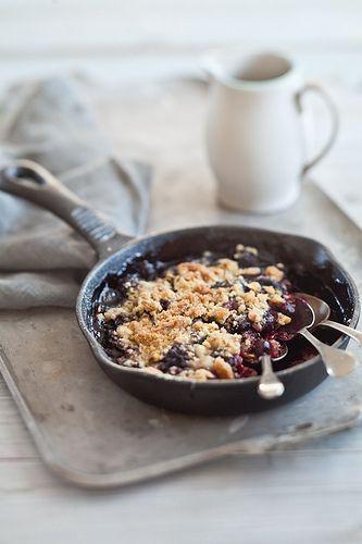 Triple Berry Crisps by tartelette, via Flickr
