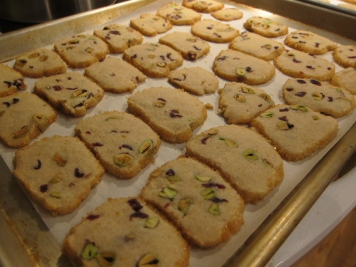 Cranberry pistachio icebox cookies | Recipes | Pinterest
