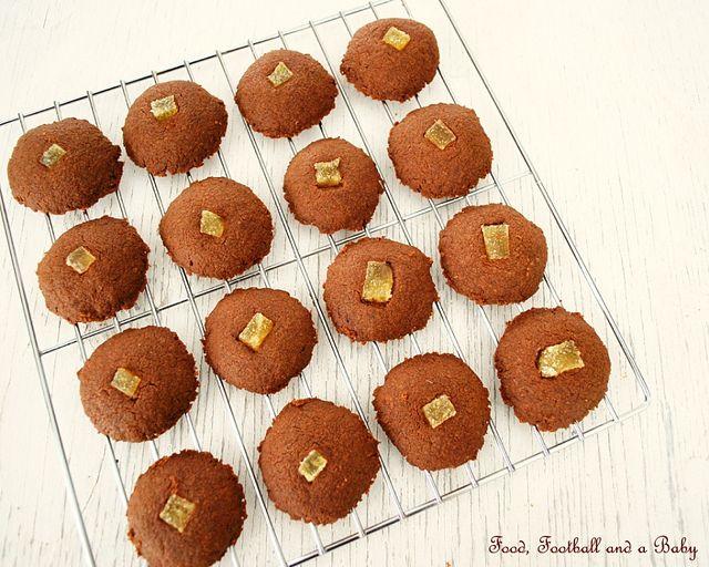 Chocolate Orange Canada Cornstarch Shortbread Cookies