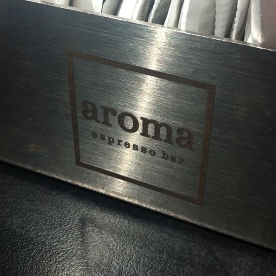 Aroma Espresso Bar: My favourite coffee house.