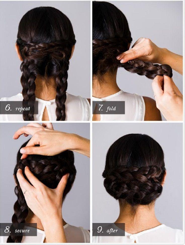 diy prom hairstyles : DIY Braided Hairstyles hair Pinterest