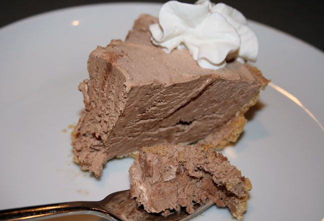 chocolate mousse pie | Food & Drink | Pinterest