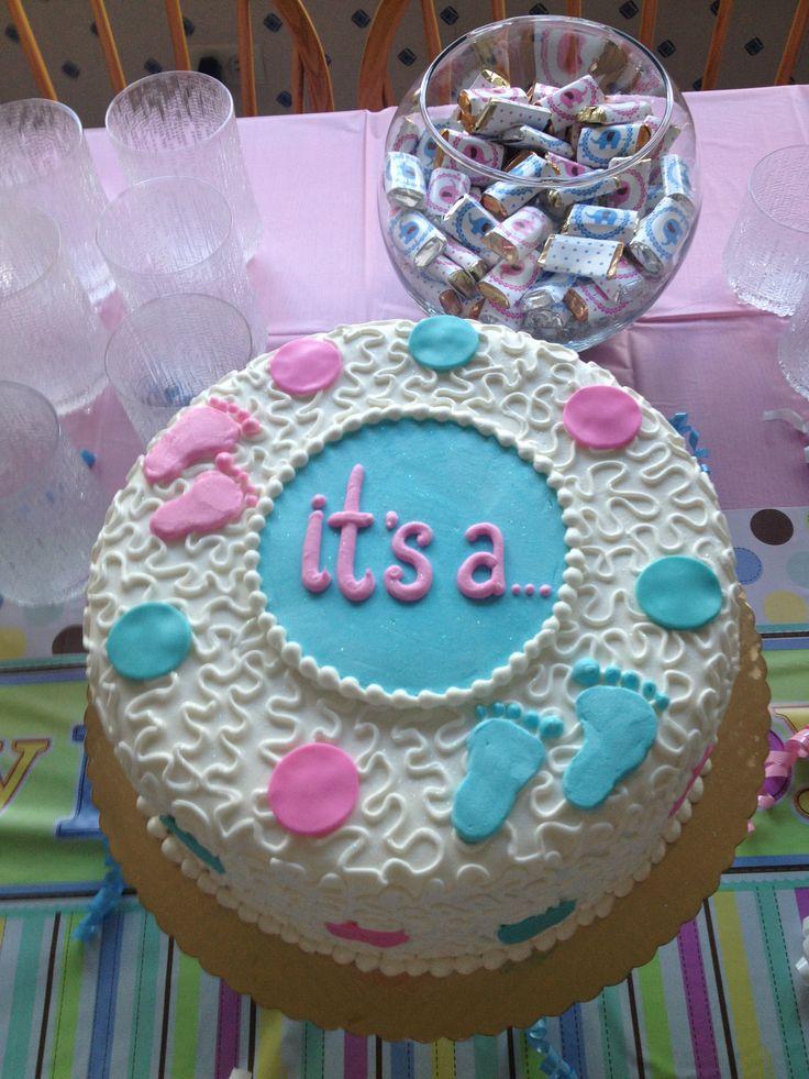 Торт с полом ребенка своими руками 41