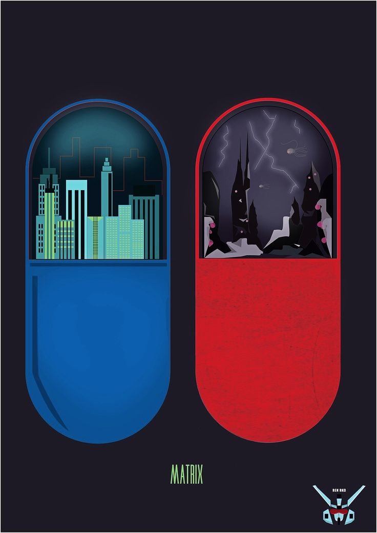 The Matrix. Red or blue? : Alternate Movie Posters : Pinterest