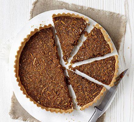 lighter treacle tart. #recipe #GoodFood TREACLE TART IS MOLASSES OR ...