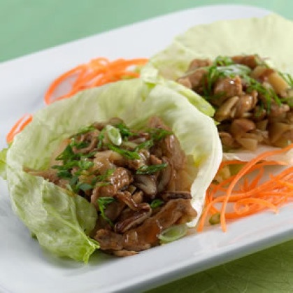 Lettuce Wraps with Spiced Pork | Stuff that makes me go MmMm | Pinter ...
