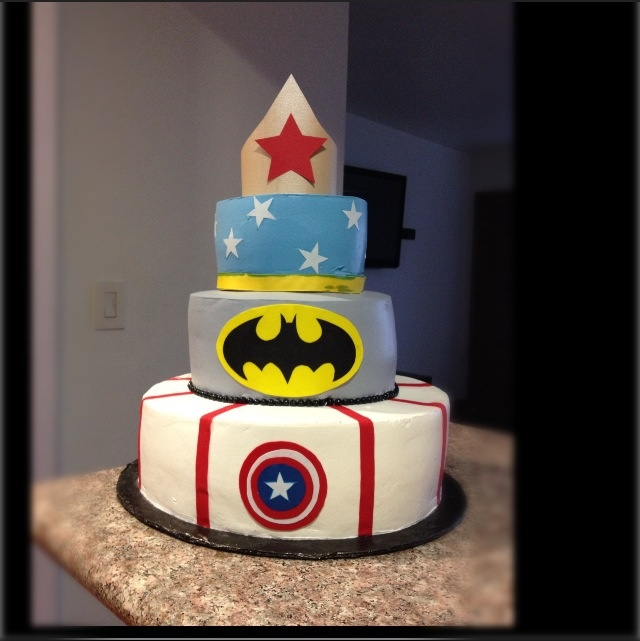 Girl Superhero Birthday Cake Ideas 79511 Super Hero Girl C
