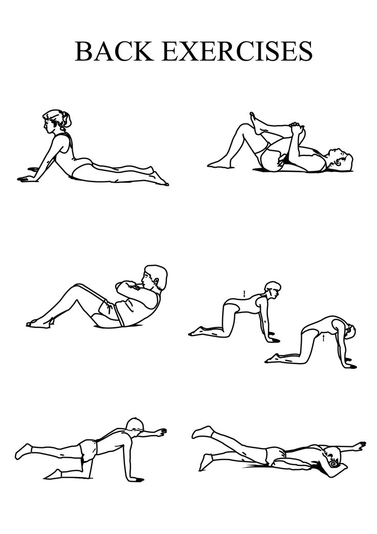 Exercises For Sciatica: Home Exercises For Sciatica Pain ...
