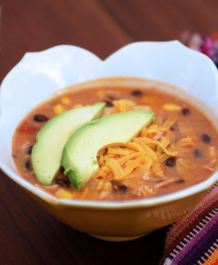 Chicken Enchilada Soup | Entertaining the idea . . . | Pinterest