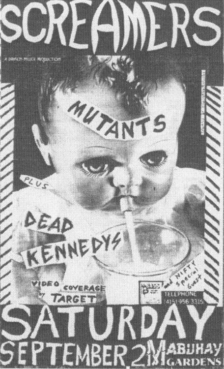 Screamers // Mutants // Dead Kennedys