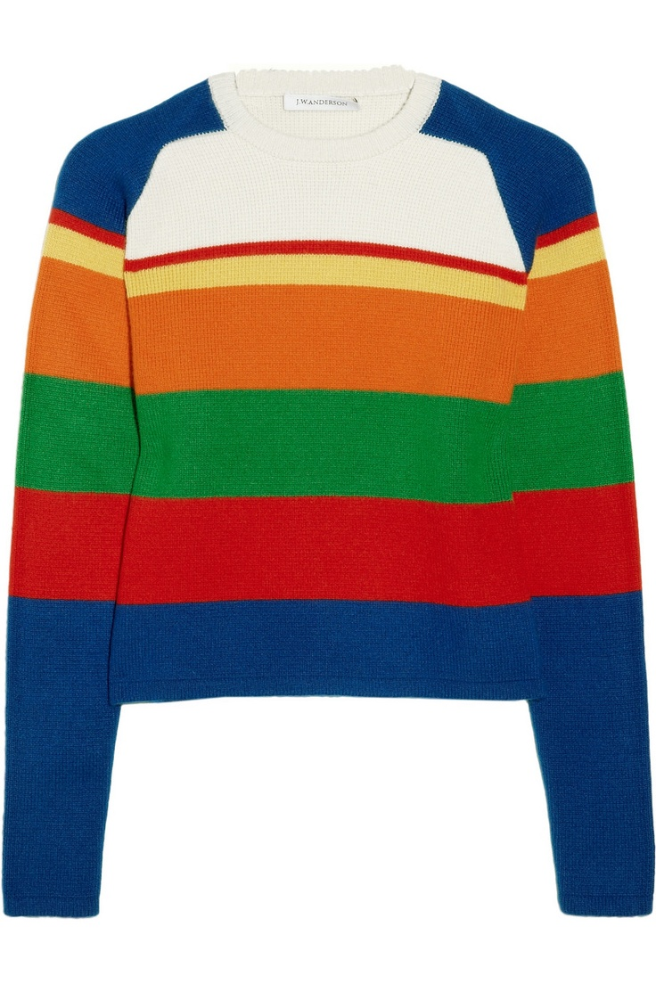J.W.Anderson | Striped cashmere sweater