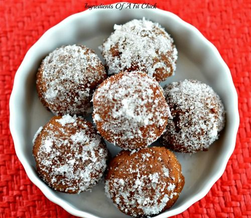 Gingerbread Donut Holes