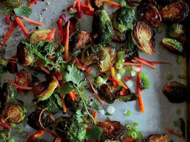 Warm Brussels Sprouts with Honey, Caraway, and Lime - a blanket of ...