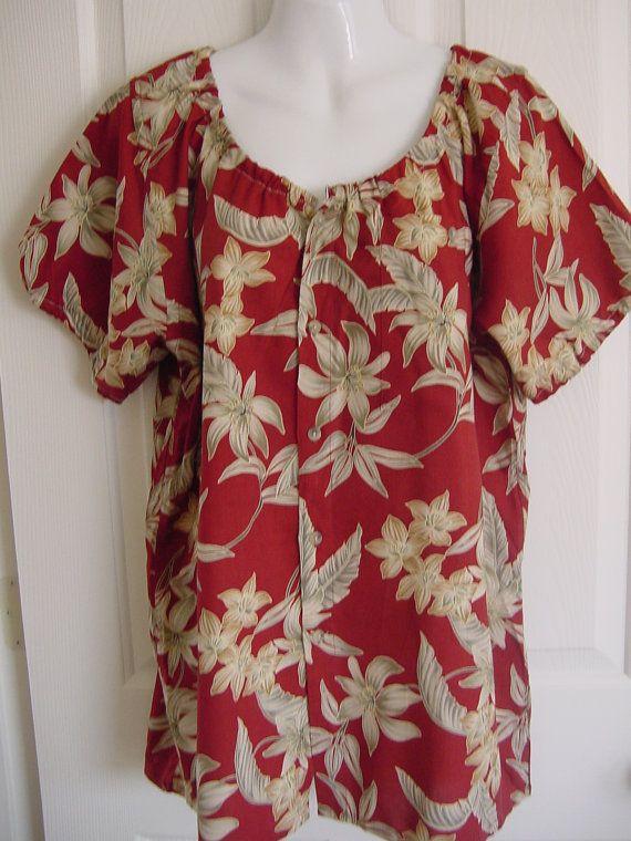 Hawaiian Blouse 2