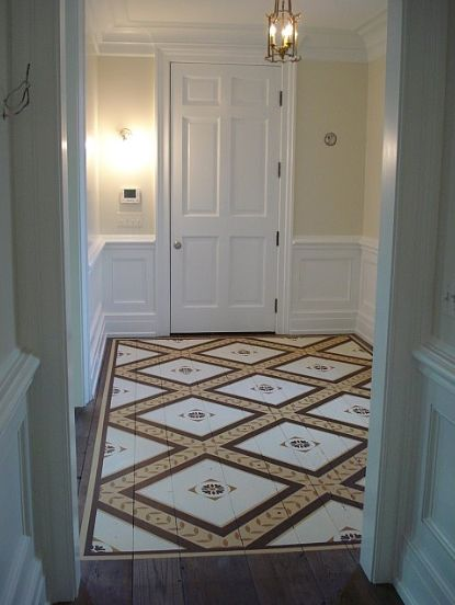 Painted Wood Floor Painting Tips And Ideas Pinterest