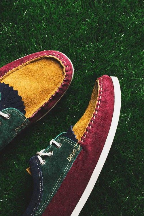 YUKETEN Kiltie Blucher Shoe