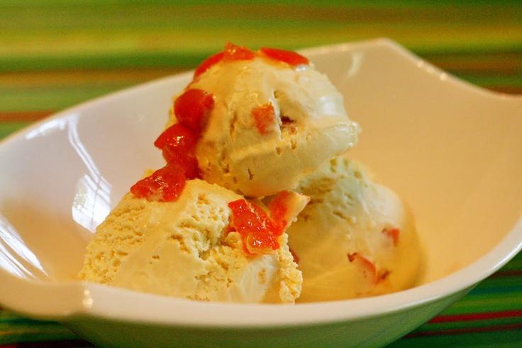 Kumquat Lemongrass Ice Cream Recipe — Dishmaps