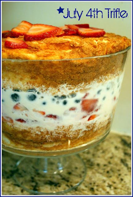 july 4th trifle recipes
