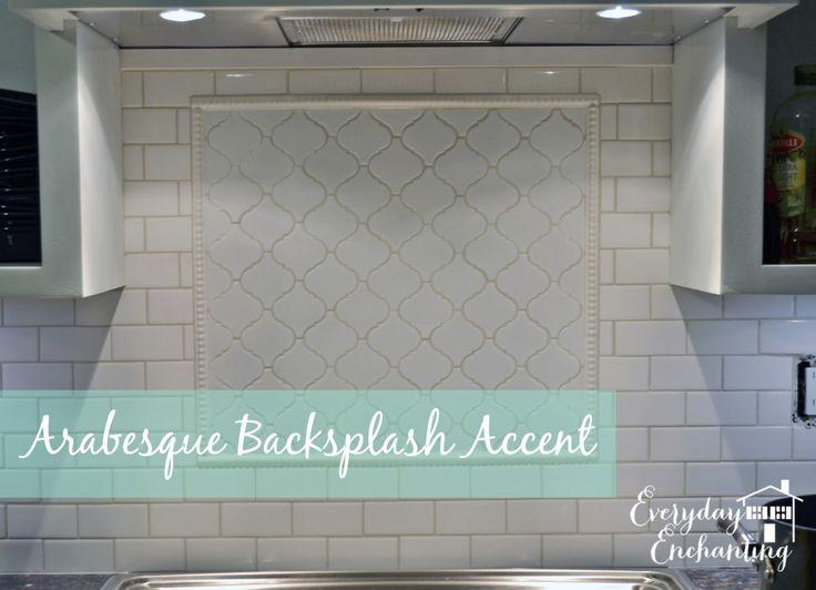 Project Kitchen Phase 1 Arabesque Backsplash Accent