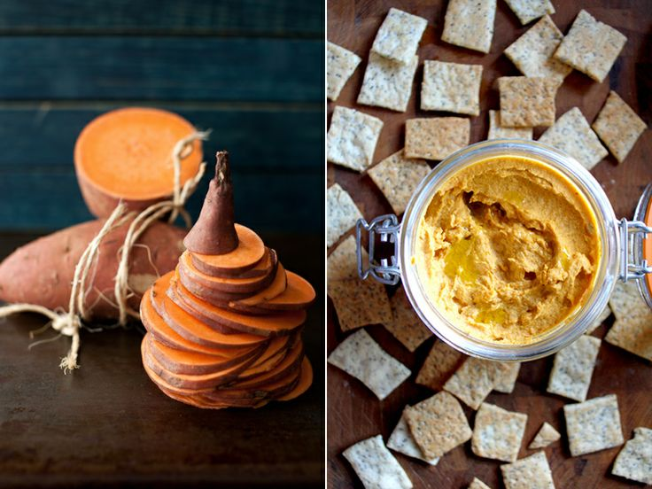 Vegetarian Ventures's Spiced Sweet Potato Hummus | Tahini (a.k.a ...