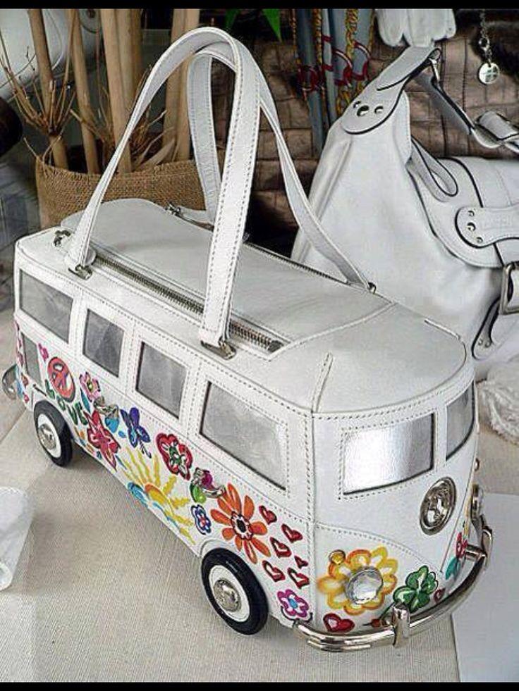 vw kombi camper handbag handbags totes backpacks. Black Bedroom Furniture Sets. Home Design Ideas