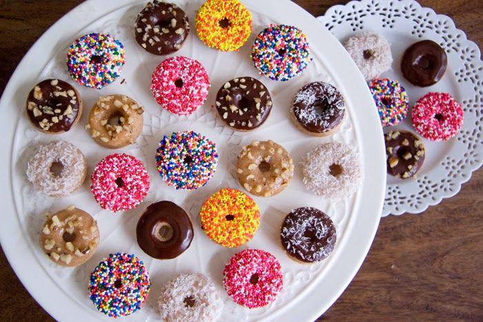 Mini Baked Donuts Recipe — Dishmaps