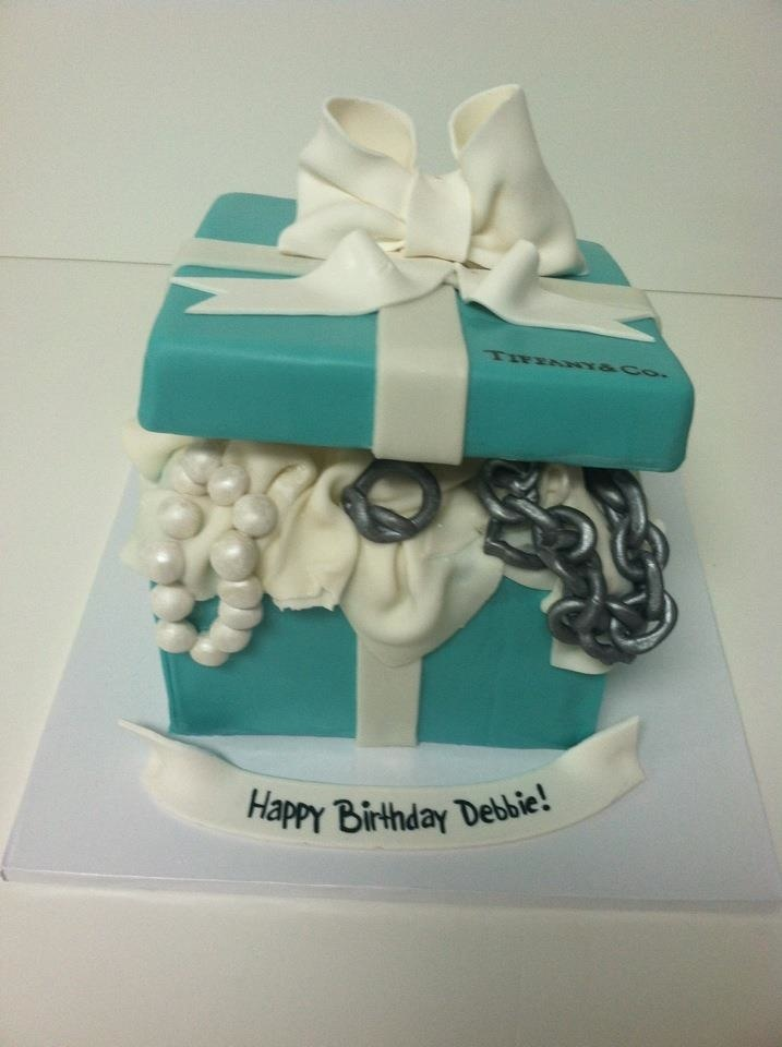 tiffany and company cakes