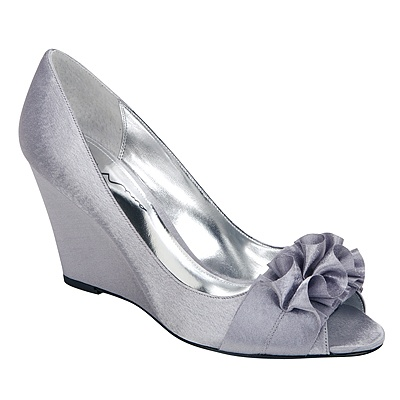 Silver Wedge At Rack Room Shoes
