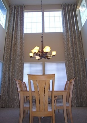 Curtain ideas for high ceilings home pinterest High ceiling curtain ideas