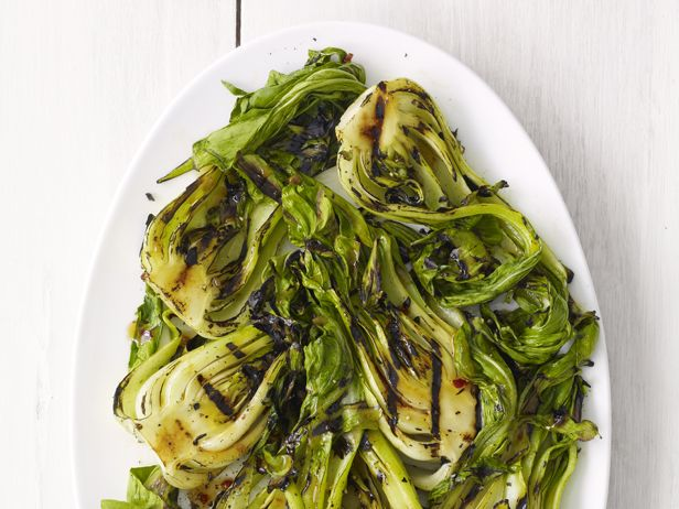 ... soy sauce. Toss with the bok choy. Grill until charred, 1 to 2 minutes