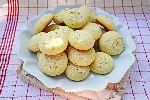 Lime sugar cookies | Dessert | Pinterest