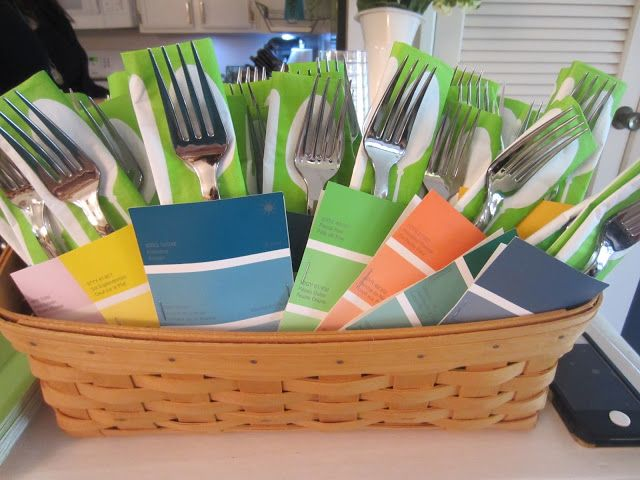 Silverware For A Housewarming Party Party Ideas Pinterest