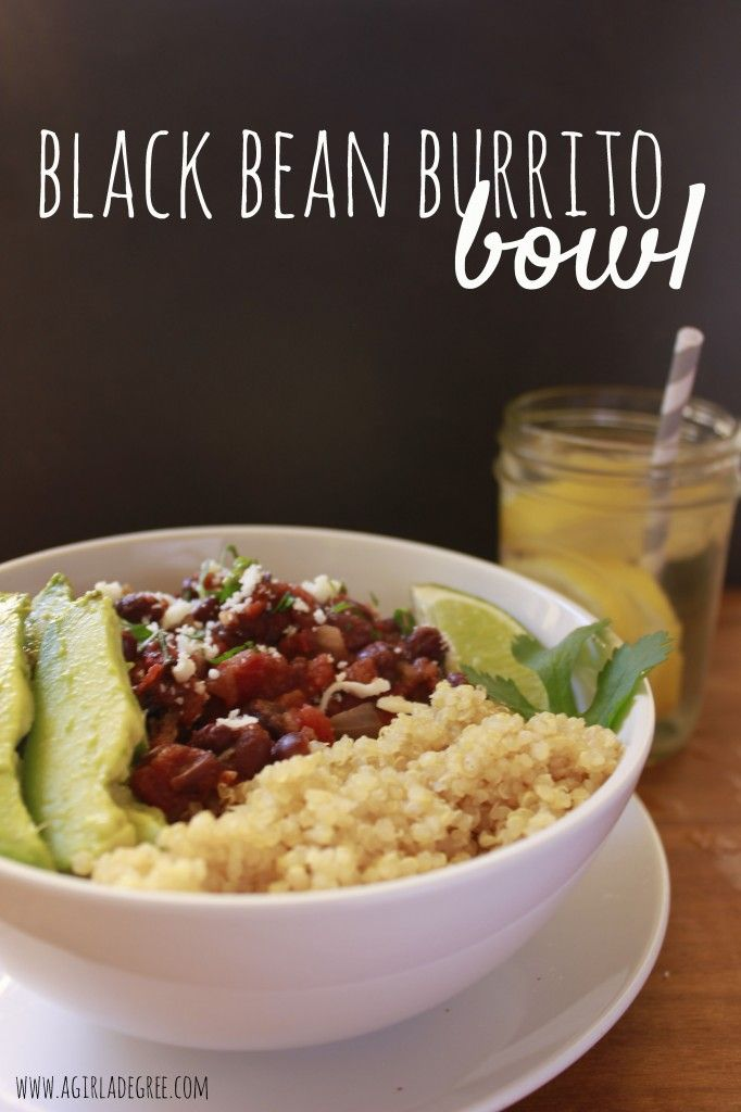 Easy, healthy and inexpensive meal: Black Bean Burrito Bowls