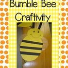 """This cute little bumble bee makes an adorable bulletin board or door decoration. Use it with the title """"Look Who's Buzzing Into ___ grade""""!"""