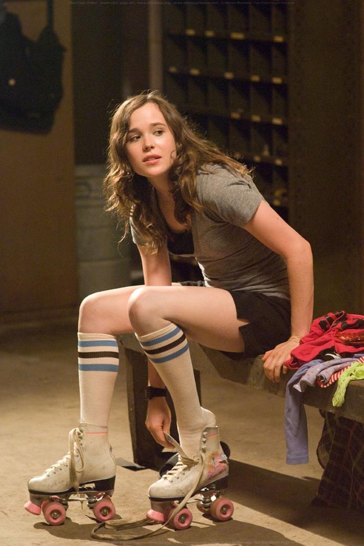Ellen Page in Whip It | Books & Blockbusters | Pinterest