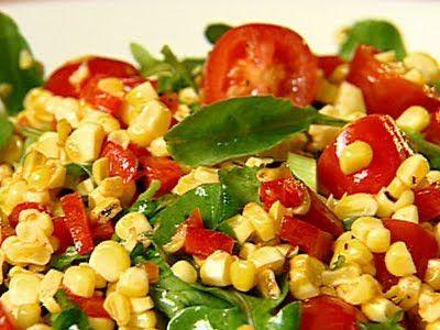 Grilled Corn Salad. | Yummyyy | Pinterest