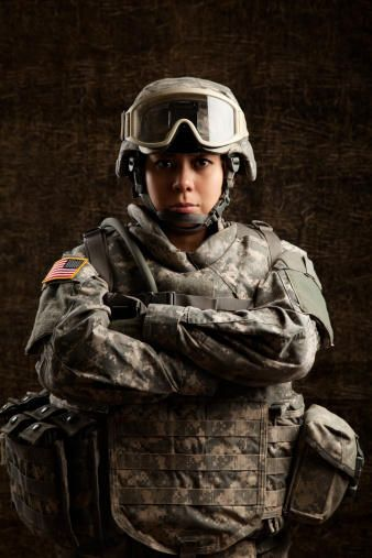 Female American Soldier | US Military veterans | Pinterest