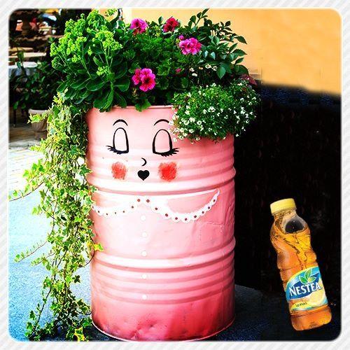 Pot de fleur  Idées pour la maison  Pinterest