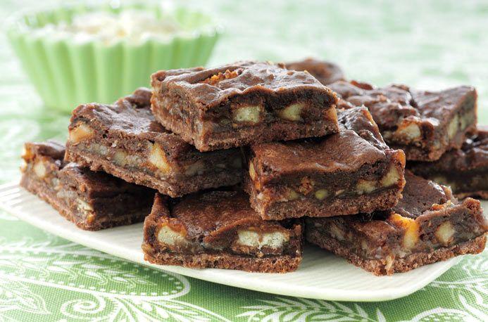 Chocolate Pudding Bars Recipe — Dishmaps