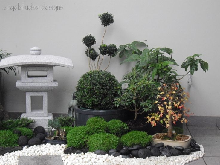 A balcony take on the japanese garden balcones zen for Balcony zen garden