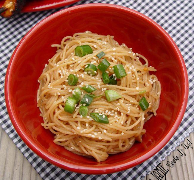 Sesame Noodles | De-lish | Pinterest