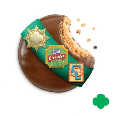 """Girl Scout Cookie Professionals learn the value of """"Good Credit."""" GSNorCal's Cookie Sale is Feb. 9-March 16, 2014. Find yours at http://www.ilovecookies.org"""