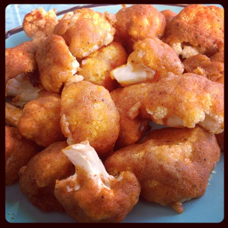Buffalo Cauliflower Florets!!! | Yummyyyyy | Pinterest