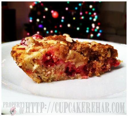 Crustless cranberry pie. | CUPCAKE REHAB DOT COM! | Pinterest