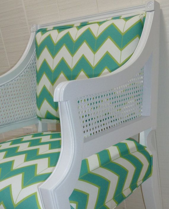design your own barrel back cane side chair with any fabric on etsy