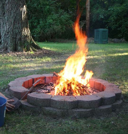Backyard Fire Pit Laws :  make an eco outdoor fire best outdoor fire pits fireplaces 10 sources
